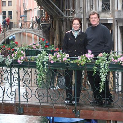 Mediterranean Honeymoon Cruise first stop Venice