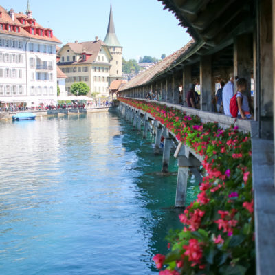 It Doesn't get More Picturesque Than Lucerne Switzerland